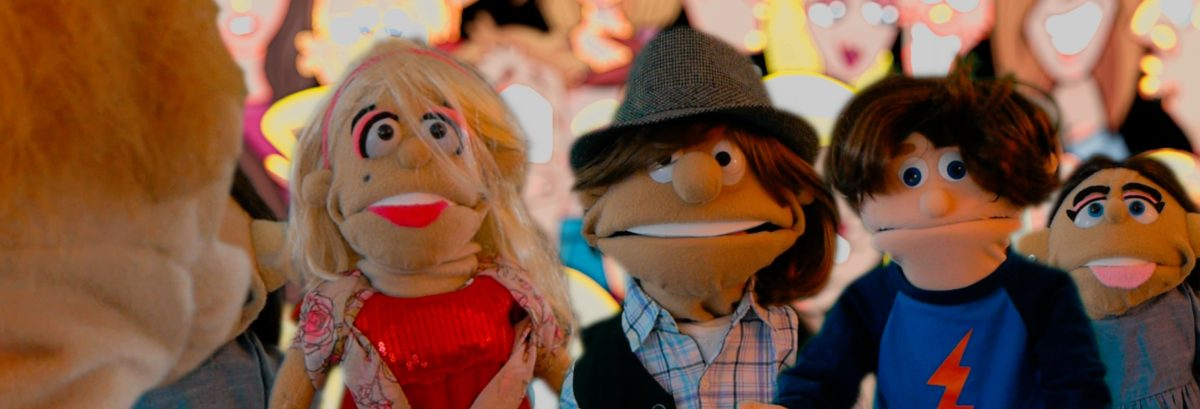 Puppets promote your business