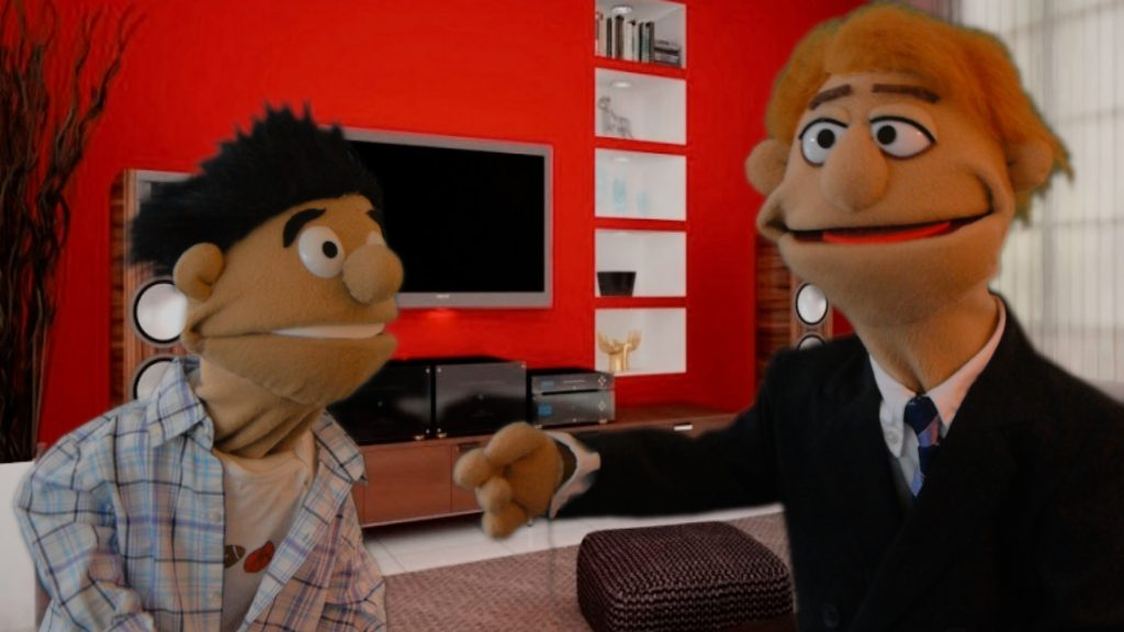 Puppets shine at corporate events