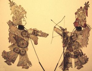 Chinese Shadow Theater Figures