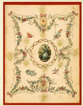 The oldest Valentine's card in Existence