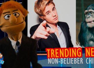 Trending News: Non-Belieber Chimps!